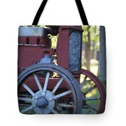Front End Of A Mccormic Deering Tractor Tote Bag