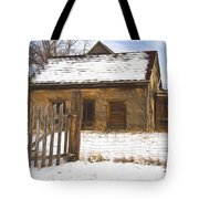 Pioneer Home Painterly Impression Tote Bag