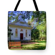 Front Of A Small Church Tote Bag
