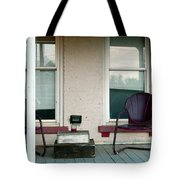 Front Porch In Moscow Ohio Tote Bag