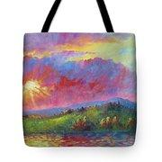 Front Range Sunset Tote Bag