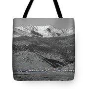 Front Range View North Boulder Colorado Tote Bag