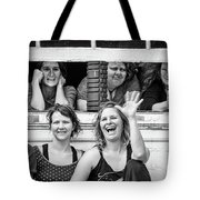 Front Row Spectators Tote Bag