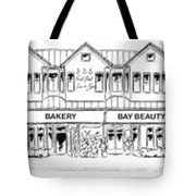 Front Street, Morro Bay Tote Bag