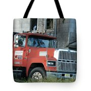 Front Of A Ford 9000 Powerhouse Tote Bag