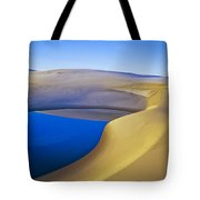 Frost And Ephemeral Pool Tote Bag