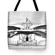 Frost Flying Machine, 1891 Tote Bag