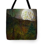 Frost Moon Tote Bag