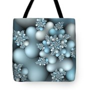 Frost Patterns Tote Bag