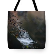 Frost Web Tote Bag