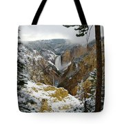 Frosted Canyon Tote Bag