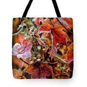 Frosted Fall Tote Bag