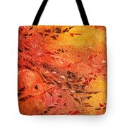 Frosted Fire I Tote Bag