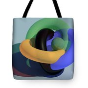Frosted Glass Toruses Tote Bag