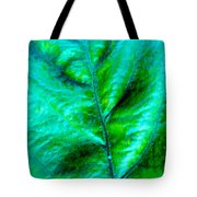 Frosted Leaf Tote Bag