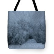 Frosted Moon Tote Bag