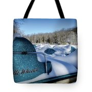 Frosted Paddleboats Tote Bag