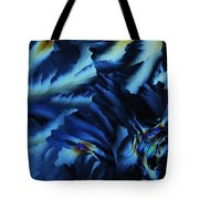 Frosty Blues Tote Bag