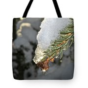 Frosty Drip Tote Bag