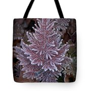 Frosty Fern Christmas Tote Bag