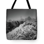 Frosty Field Tote Bag