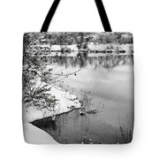 Frosty Flatirons Tote Bag