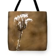 Frosty Flower Remains Tote Bag