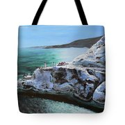 Frosty Fort Amherst Tote Bag
