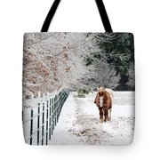 Frosty Mare Tote Bag
