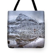 Frosty Morning In Pano Tote Bag