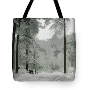 Frosty Paradise Tote Bag