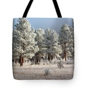 Frosty Pikes National Forest Tote Bag