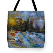 Frosty The Snow Man Tote Bag