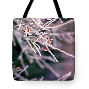 Frosty Twigs Tote Bag