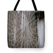 Frosty Web Tote Bag