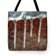 Frozen Along Her Shores Tote Bag