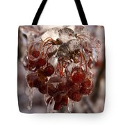 Frozen Berries Tote Bag
