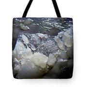 Frozen Blue 3 Tote Bag