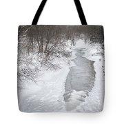 Frozen Brook Tote Bag