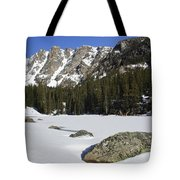 Frozen Colorado  Tote Bag