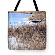 Frozen Dock Tote Bag