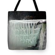 Frozen Falls Tote Bag