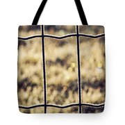 Frozen Fence Tote Bag