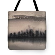 Frozen Fields  Tote Bag