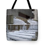 Frozen Fountain Tote Bag