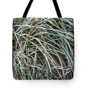 Frozen Grass - Ground Frost Tote Bag