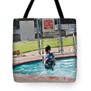 Frozen In Action Tote Bag
