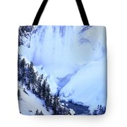 Frozen In Time Yellowstone National Park Tote Bag