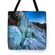 Frozen Kaaterskill Falls Tote Bag