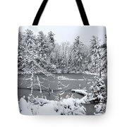 Frozen Lake 3 Tote Bag
